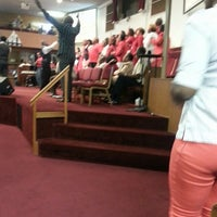 Photo taken at Greater Mt. Zion Baptist Church by LaKisha C. on 8/4/2013