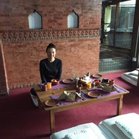 Photo taken at Kantipur Temple House by Natalie T. on 4/15/2016