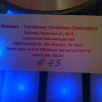 Photo taken at Continental Cafe and Event Center by SELECTA Q45 on 12/22/2013
