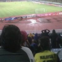 Photo taken at Stadium Darul Aman by Amirul A. on 2/26/2013