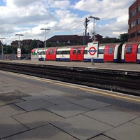 Photo taken at East Finchley London Underground Station by Brock T. on 7/24/2013