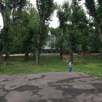 Photo taken at Фонтан в сквере Девичьего поля by Lollipopchik on 7/3/2016