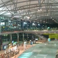 Photo taken at Rajiv Gandhi International Airport (HYD) by Abhijeet S. on 10/22/2012