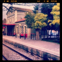 Photo taken at RENFE Les Franqueses del Vallès by Katerina S. on 11/15/2012