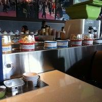 Photo taken at Blue C Sushi by Ryan G. on 11/20/2012