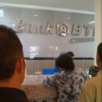 Photo taken at Bank BTN by Recky P. on 9/17/2013