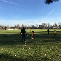 Photo taken at Dundonald Recreation Ground by Burak A. on 12/11/2016