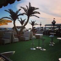 Photo taken at London Palm Cafe Bistro by Baris K. on 8/7/2014