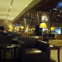 Photo taken at SIA SilverKris Lounge (Terminal 3) by Vyacheslav R. on 6/24/2013