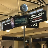 Photo taken at Gate A54 by Carlos D. on 12/8/2017