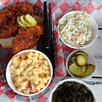 Photo taken at Hattie B's Hot Chicken by Maddie T. on 2/27/2013