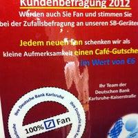 Photo taken at Deutsche Bank by Flo on 12/11/2012