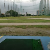 Photo taken at City Golf Driving Range by Ana D. on 3/9/2013