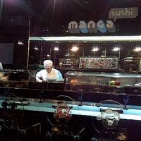 Photo taken at Manga Sushi مانجا سوشي by ElReem R. on 1/28/2013