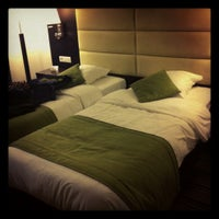 Photo taken at Hotel Nivelles-Sud (Van der Valk) by Joyce D. on 11/6/2012