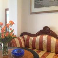 Photo taken at Athos Hotel by Tatiana B. on 4/25/2013