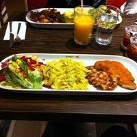 Photo taken at Green Salads by Mutlu on 2/27/2013