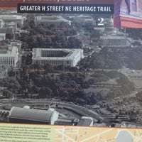 Photo taken at Greater H Street Heritage Trail by Den R. on 4/13/2013