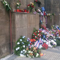 Photo taken at National Memorial to the Heroes of the Heydrich Terror by Václav on 6/19/2014