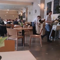 Photo taken at Mistral Café Restaurant by Václav T. on 4/9/2013