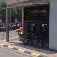Photo taken at Peluqueria Zycry by Leonardo R. on 7/13/2013