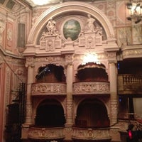 Photo taken at Shaftesbury Theatre by Nadin B. on 4/28/2013