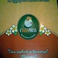Photo taken at L'Eggspress by MJ L. on 9/19/2012