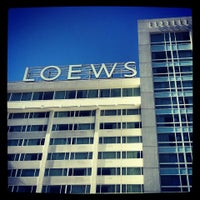 Photo taken at Loews Hollywood Hotel by Paula P. on 8/17/2013