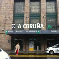 Photo taken at Estación de A Coruña-San Cristobal by David N. on 2/24/2013