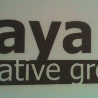 Photo taken at Kaya Creative Group by Natasha Z. on 8/8/2013