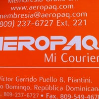 Photo taken at Aeropaq by Rolando D. on 12/19/2012