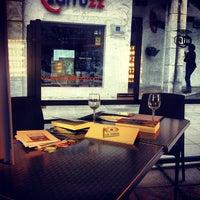 Photo taken at Restaurante Larruzz Bilbao by La Visita C. on 7/2/2013