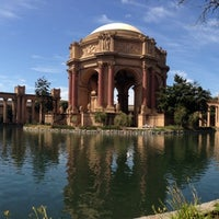 Photo taken at Palace of Fine Arts by Stephen F. on 3/13/2013
