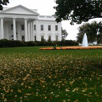 Photo taken at White House Visitor Center by Fabrizio on 10/28/2012