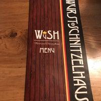 Photo taken at Wurst & Schnitzelhaus by Daniel Y. on 4/1/2018