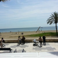 Foto tomada en Playa de La Malagueta por Mery Laura M. el 4/12/2013