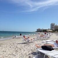 Photo taken at Ritz Carlton Key Biscayne white sand beach by Henry L. on 3/17/2014
