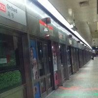 Photo taken at Orchard MRT Station (NS22) by Käìzér I. on 11/15/2012