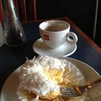 Photo taken at Cafe Aromas by Jeff M. on 5/6/2013