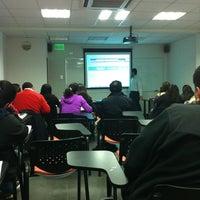 Photo taken at Facultad De Ingeniería Y Negocios UDLA República by Rodrigo V. on 10/11/2012