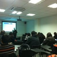 Photo taken at Facultad De Ingeniería Y Negocios UDLA República by Rodrigo V. on 9/28/2012