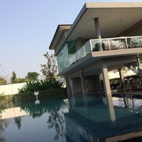 Photo taken at Club house @ Chaiyapruk Village by Nut101 J. on 1/26/2014