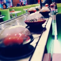 Photo taken at Yo! Sushi by Nouf A. on 1/18/2013
