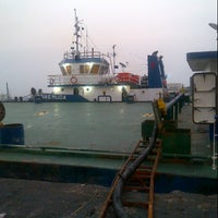 Photo taken at On Jetty 004  Port Of Tanjung Priok Jakarta by rajain g. on 9/18/2012