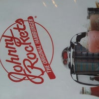 Photo taken at Johnny Rockets by Kimberlee P. on 10/6/2012