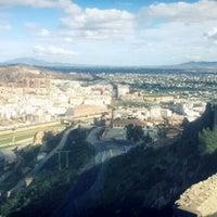 """Photo taken at Parador de Turismo """"Castillo de Lorca"""" by QQ on 11/10/2012"""