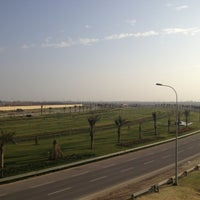 Photo taken at Lion Garden Baghdad Airport by Ond A. on 4/15/2013