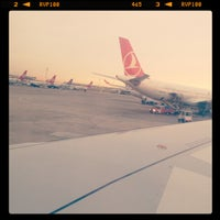 Photo taken at Baghdad International Airport (BGW) by Ond A. on 5/29/2013