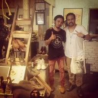 Photo taken at Wayout 'Rock n Roll Wear' Gallery by Lidia H. on 5/9/2013