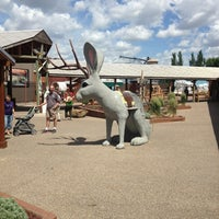 Photo taken at Wall Drug by Casey M. on 6/30/2013